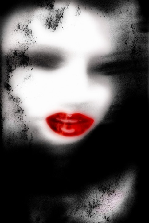 {daily pic} The Woman Who Wore The Sinful Red Lipstick ~ Jessy Menchacha