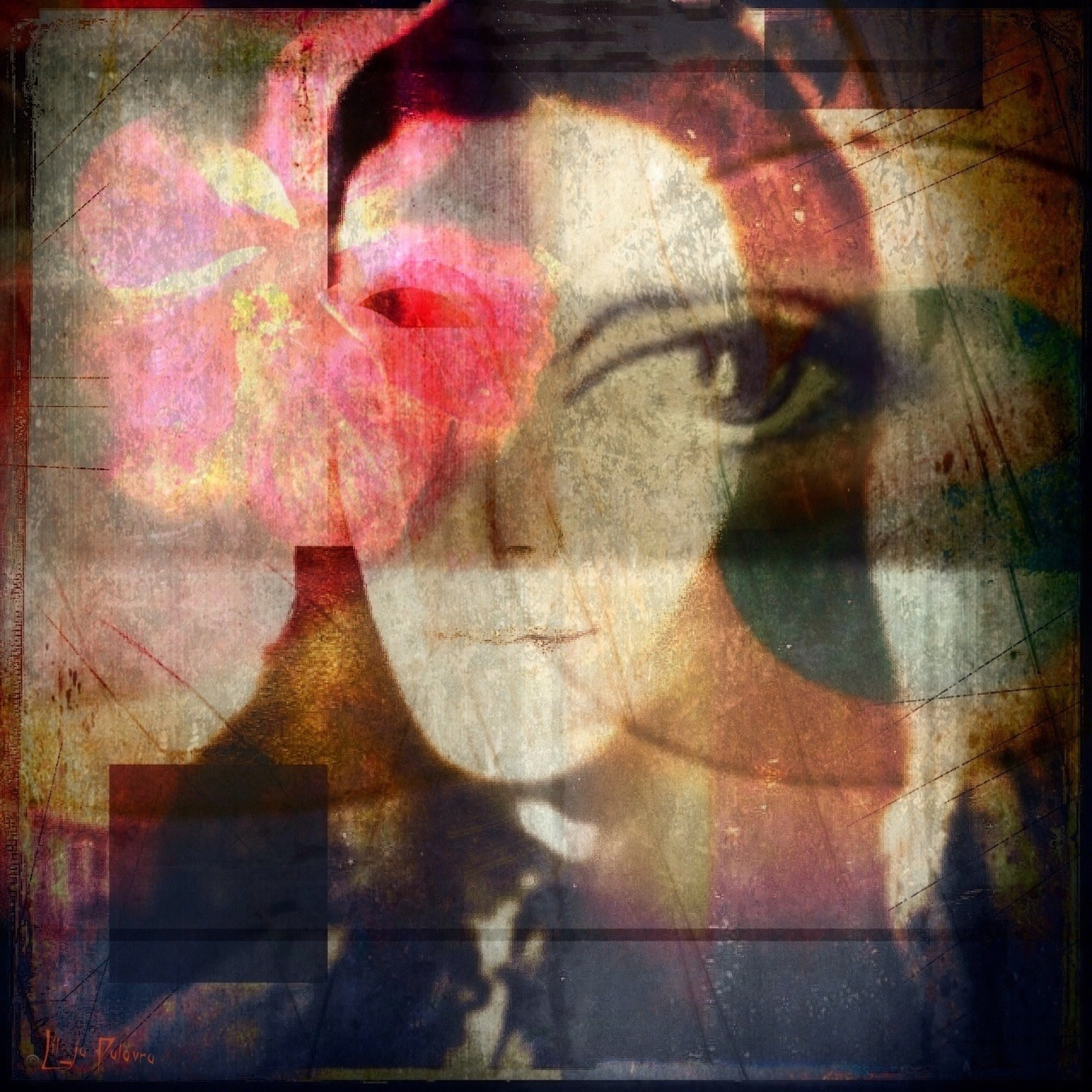 """{daily pic}  by Lil-ja Palavra ~ """"Only she knows"""""""