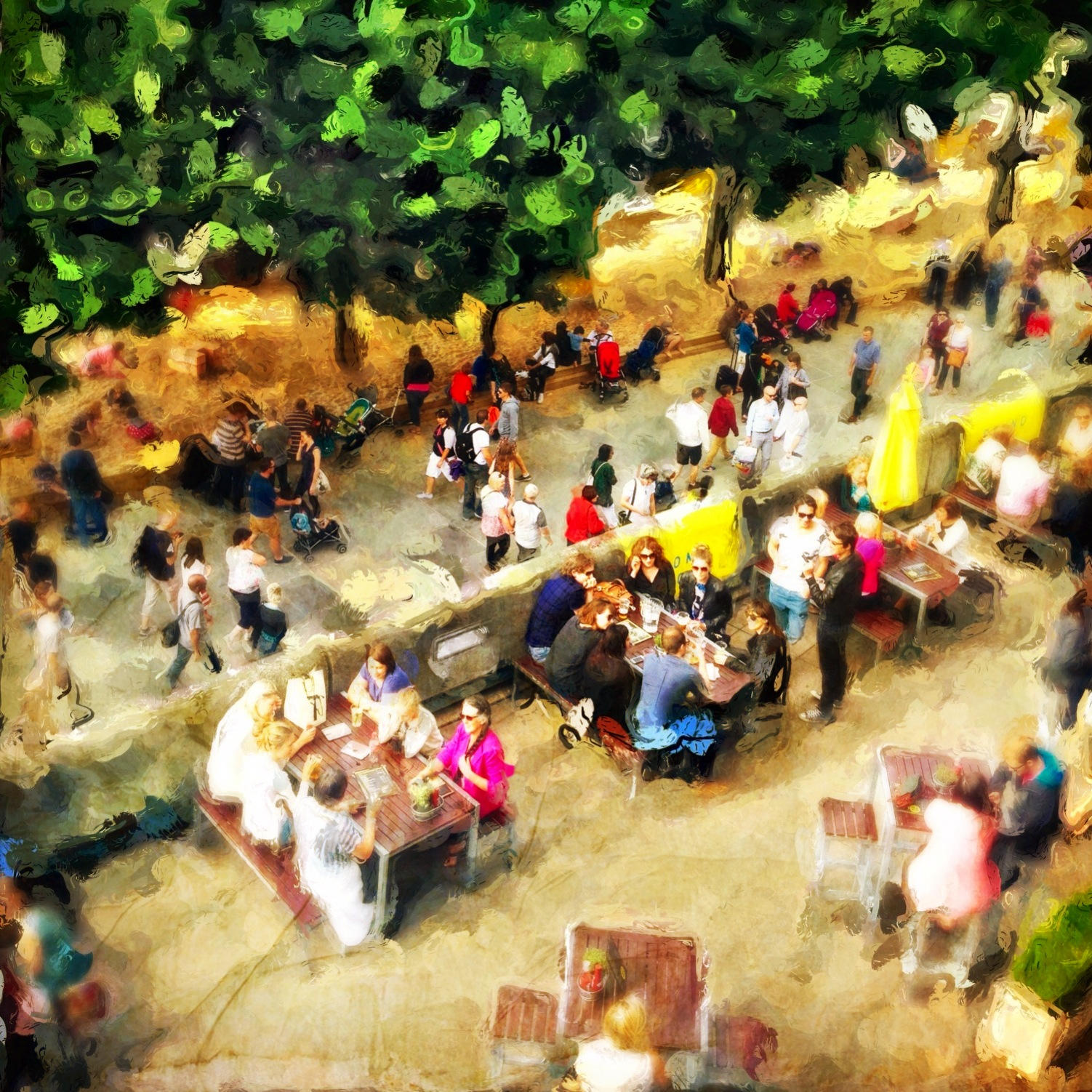 Veevs Hanson ~ Lunch on the Southbank