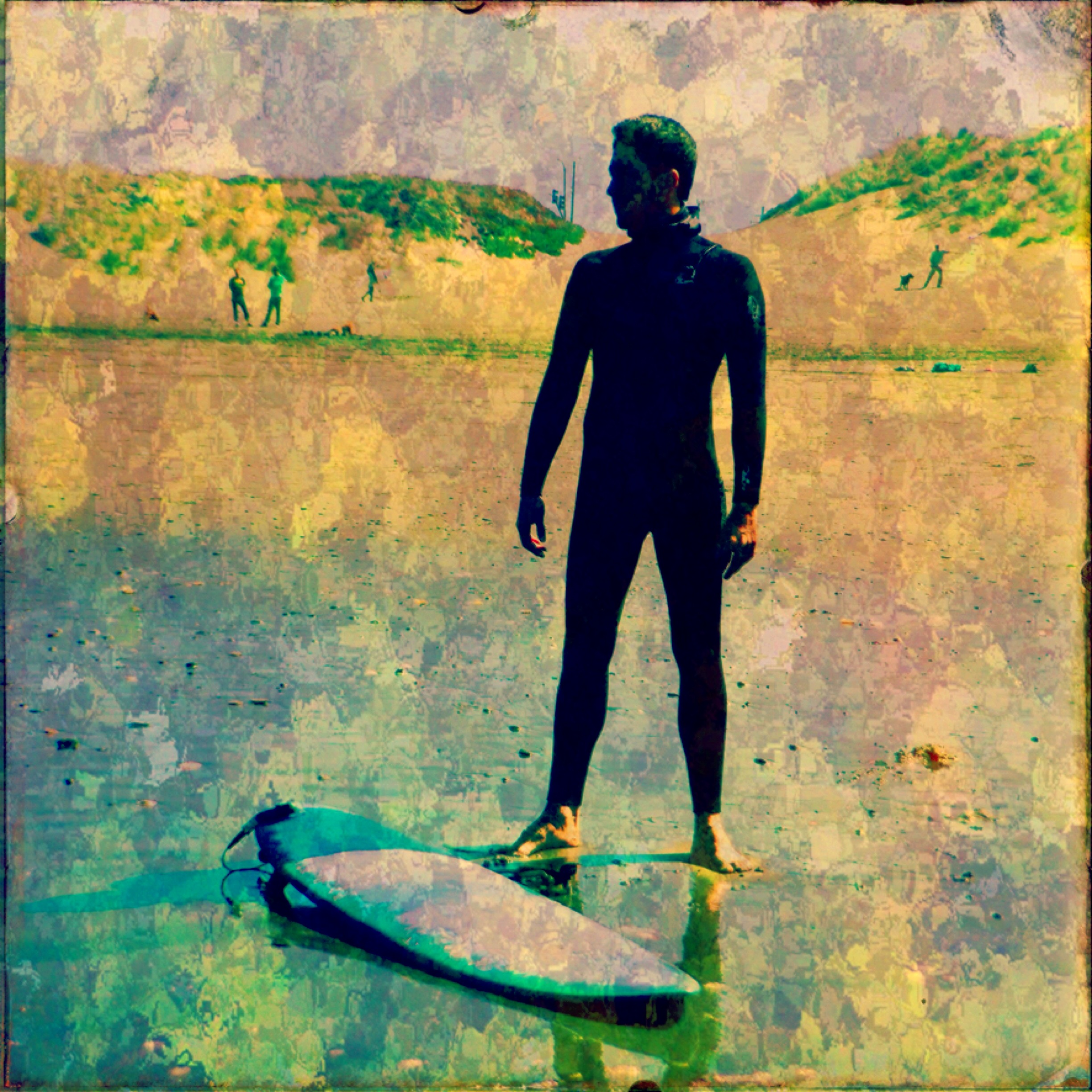 Petyr Campos ~ Surfer Dude