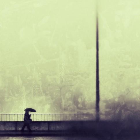 Laura Zimmerman ~ A Crowd Flowed Over London Bridge So Many - T.S. Eliot