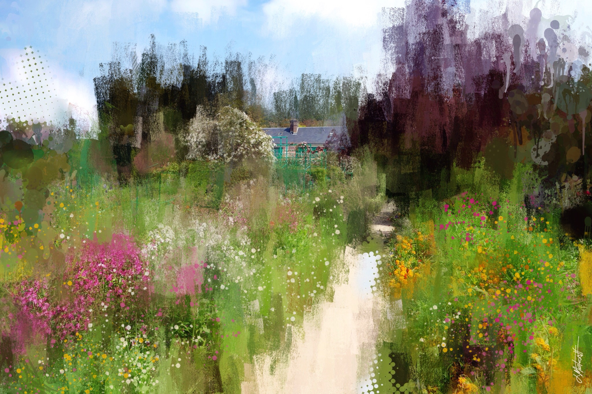 James Metcalf ~ Monet's Home and Gardens