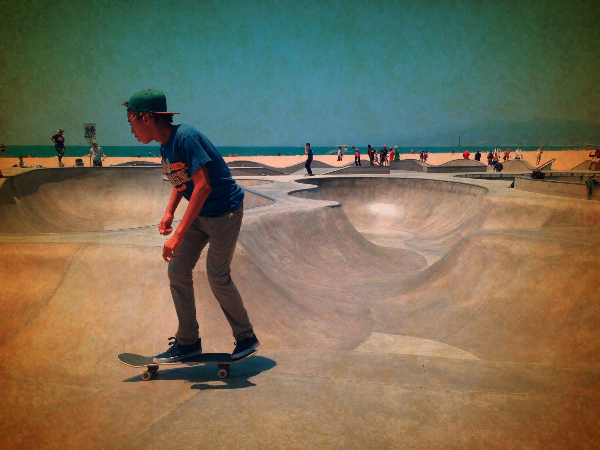 Kris Torma ~ Lone Skater – Venice