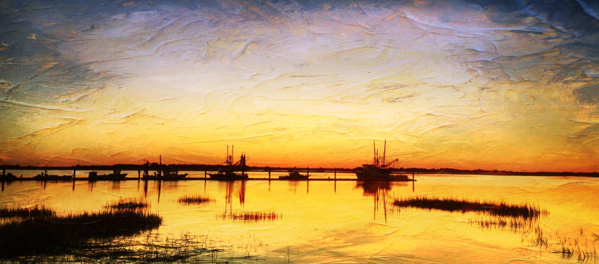 Joe Barranco ~ Shrimp Boats