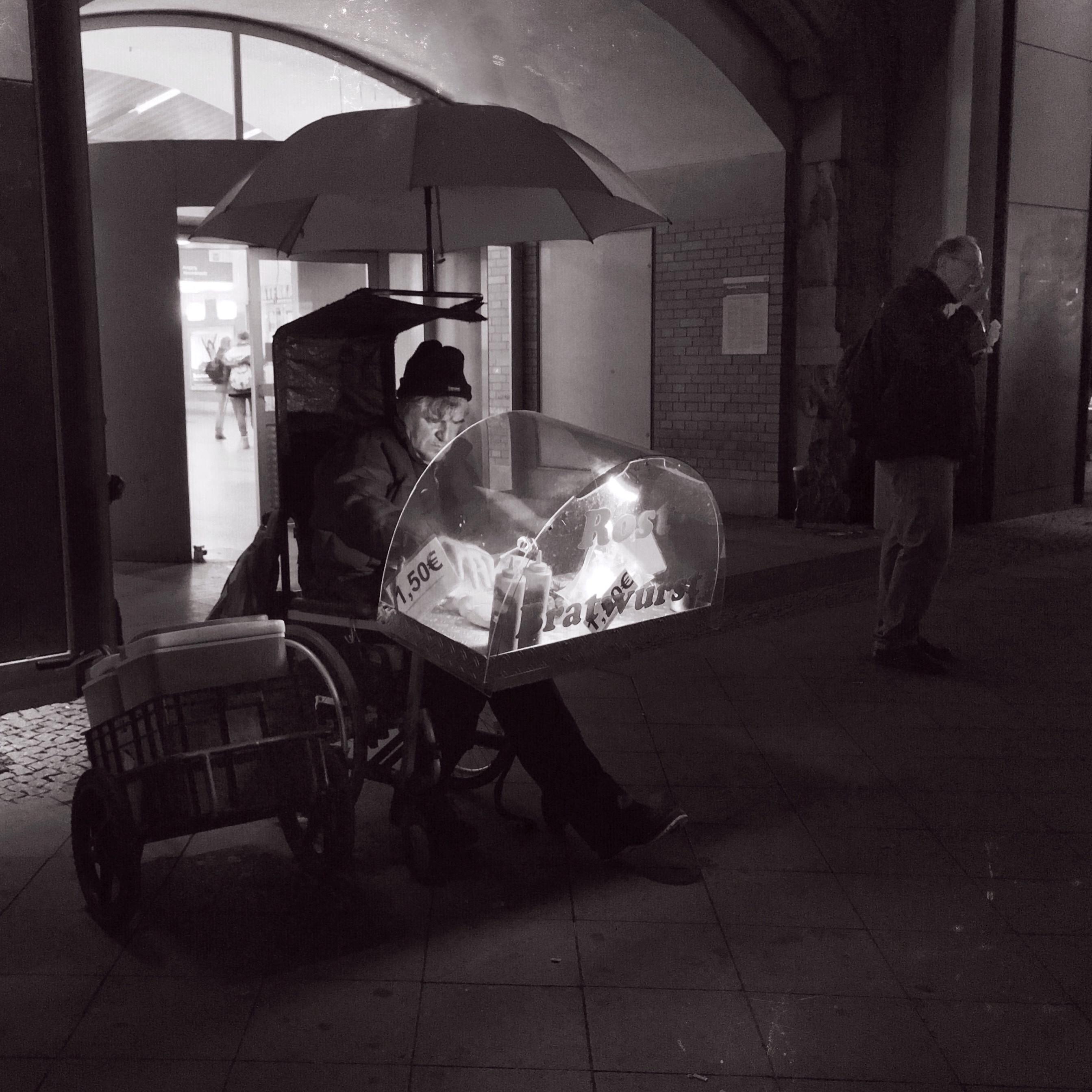 Hans Borghorst ~ The Sausage Seller