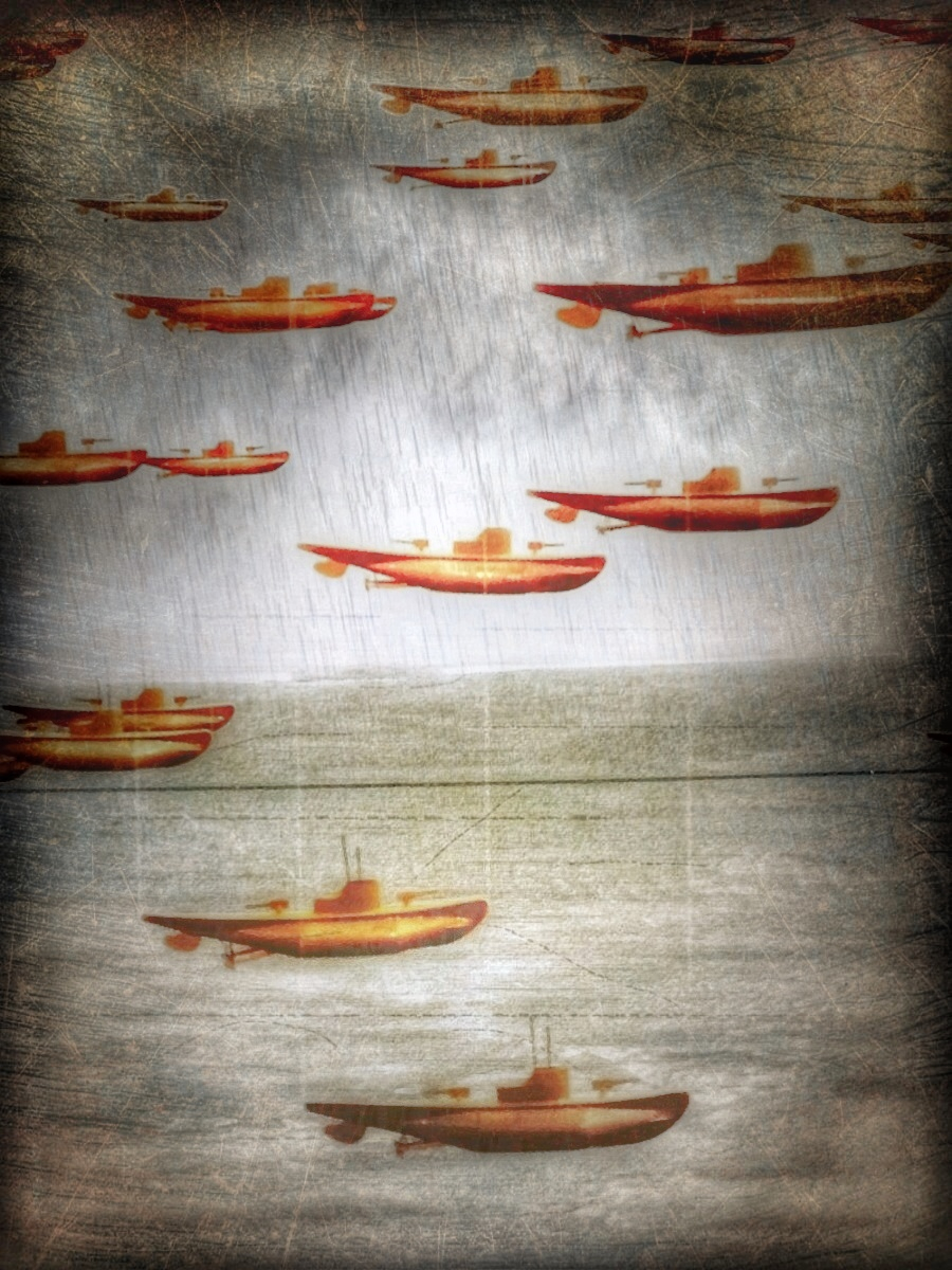 {tumblr} Paul Toussaint ~ Boat Traffic
