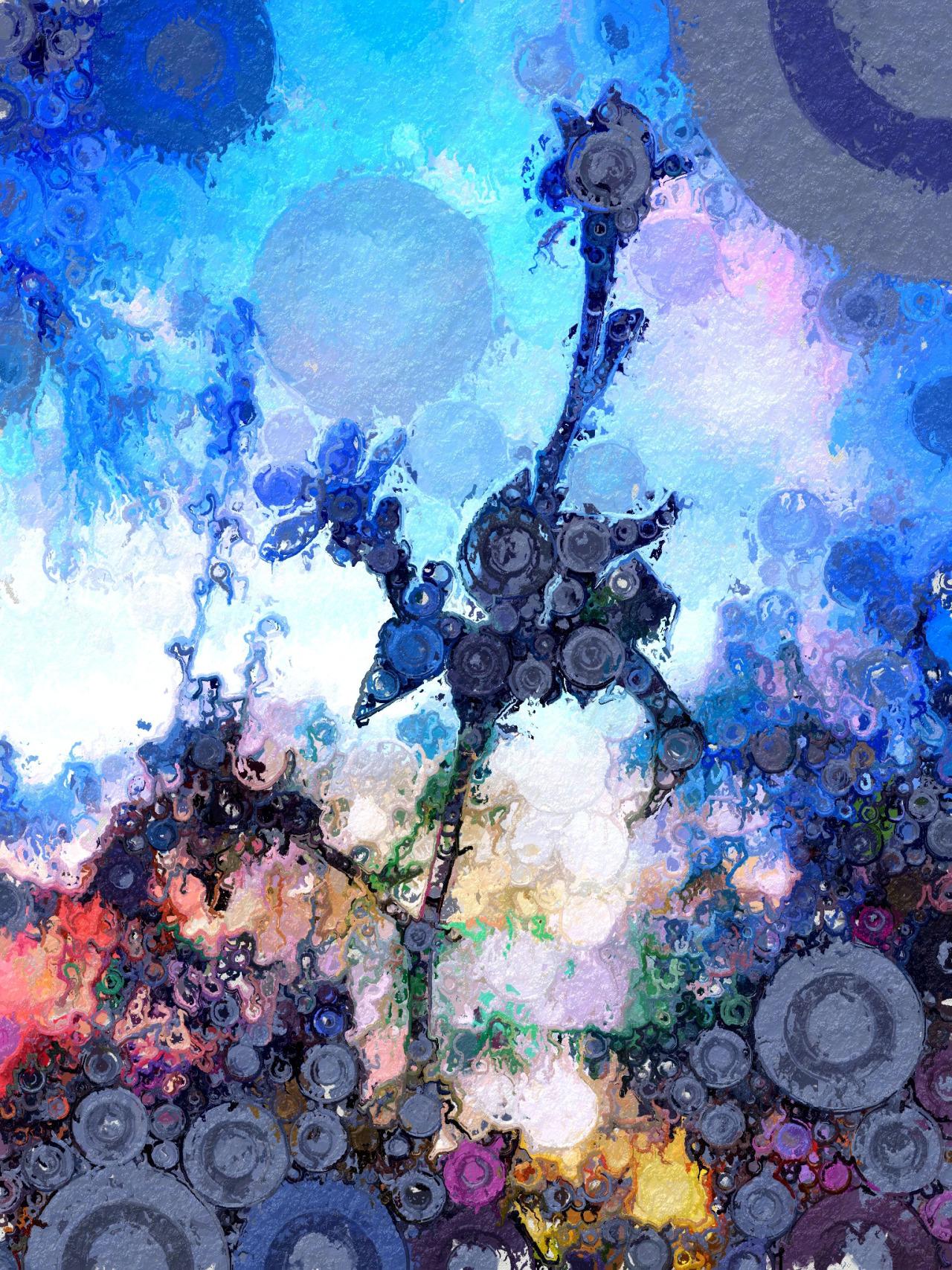{tumblr} Andrew Lucchesi  ~ Flowering Tree