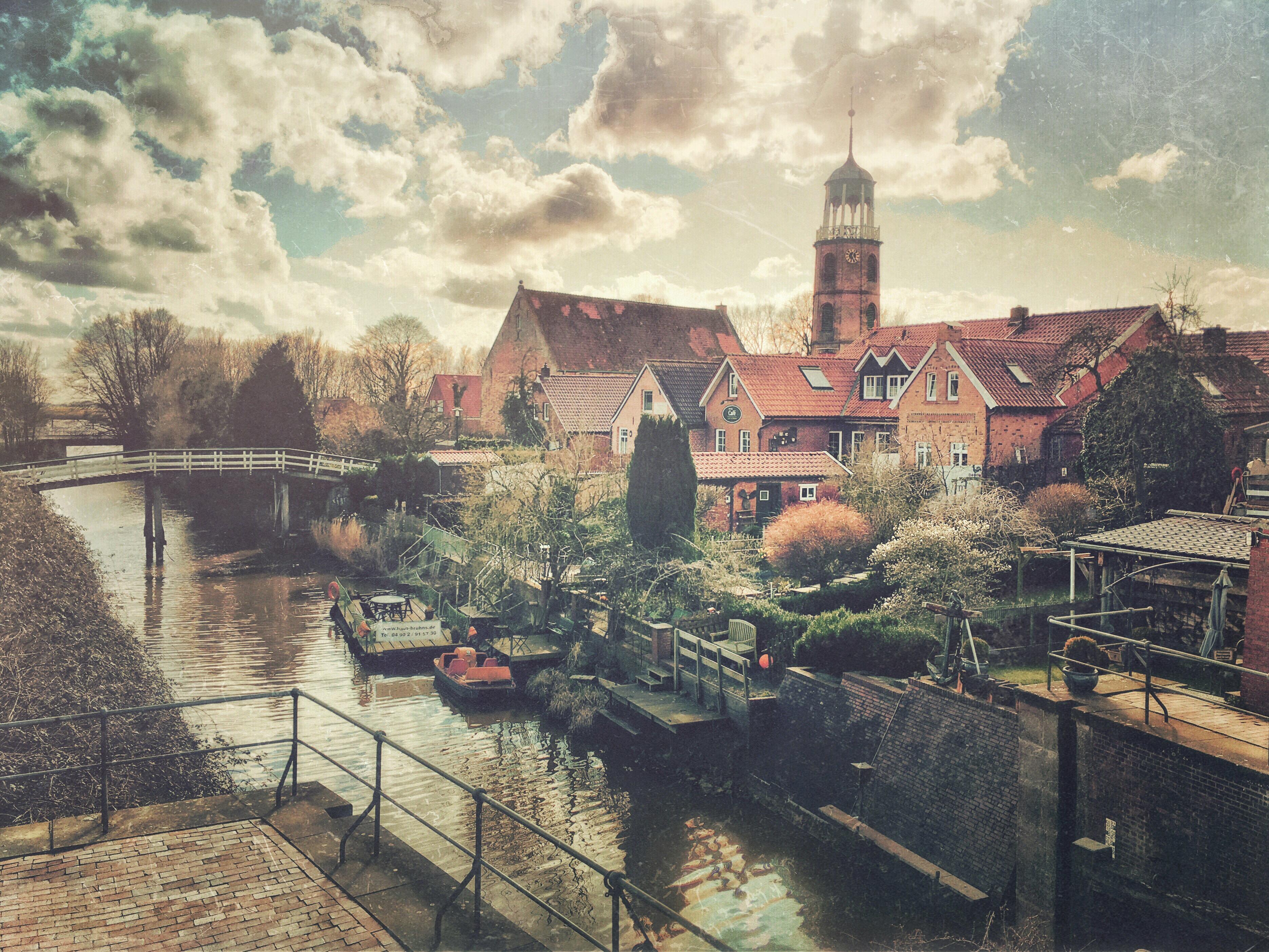 Hans Borghorst ~ Idyllic Town
