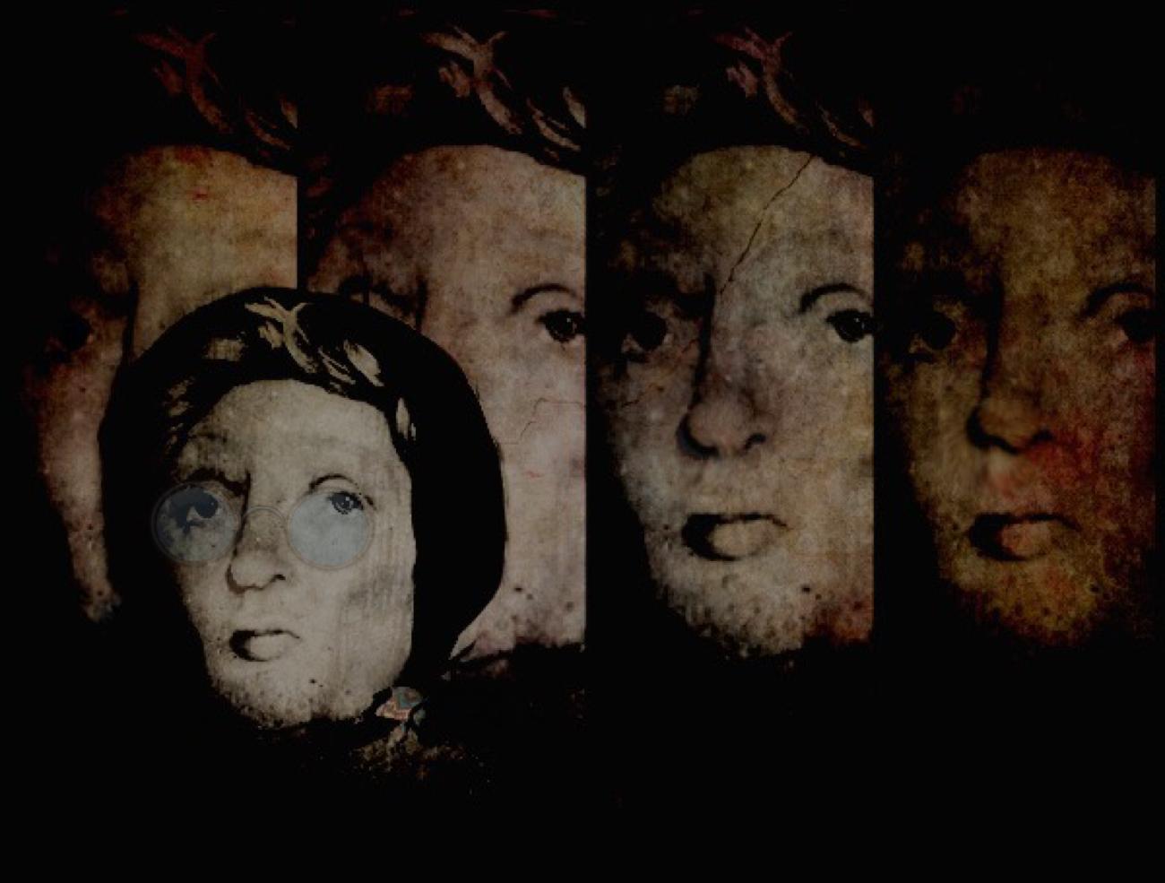 Judy Green ~ Lady Annabelle Sculpture x5