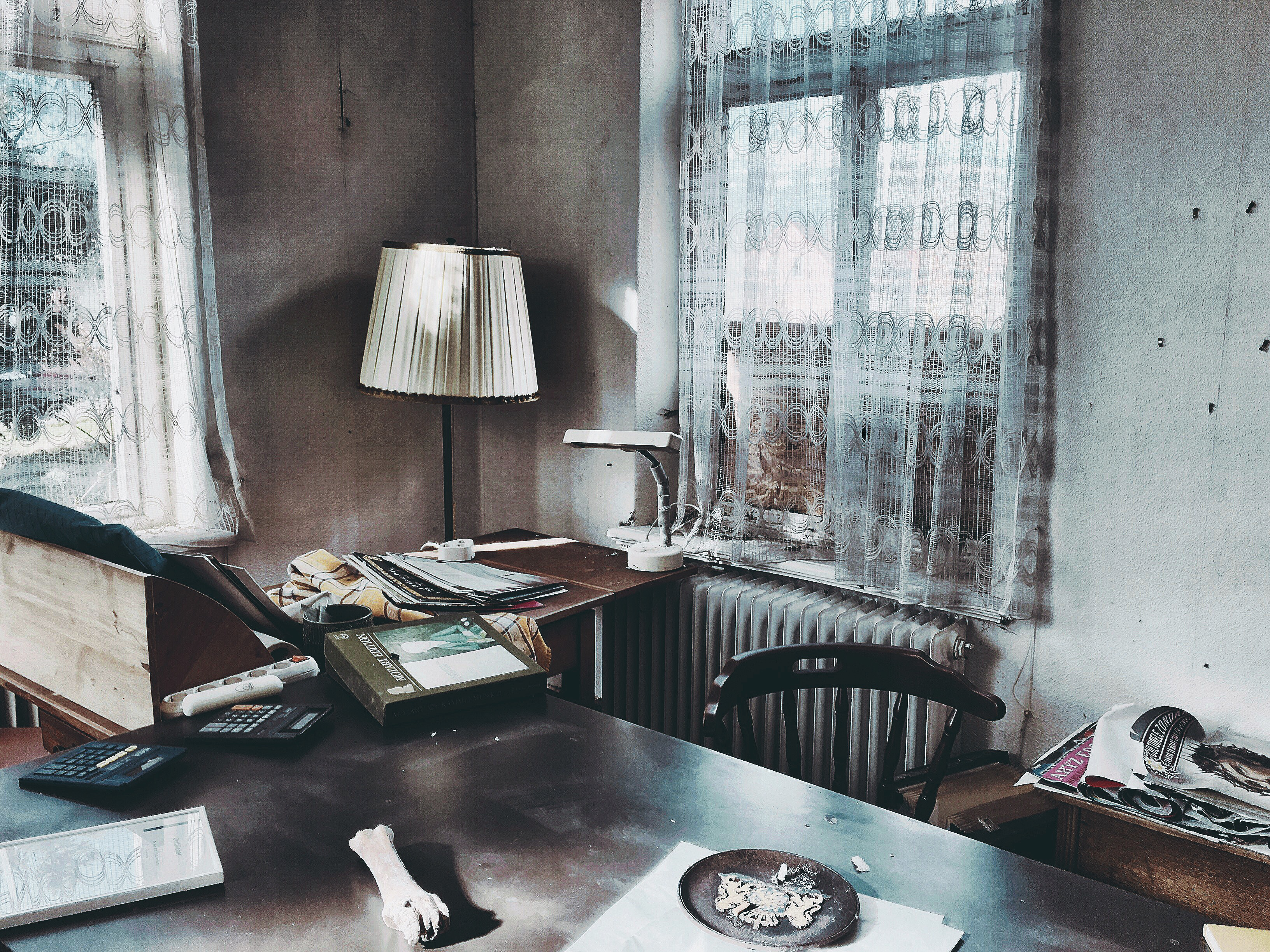 Hans Borghorst ~ Office at deserted house