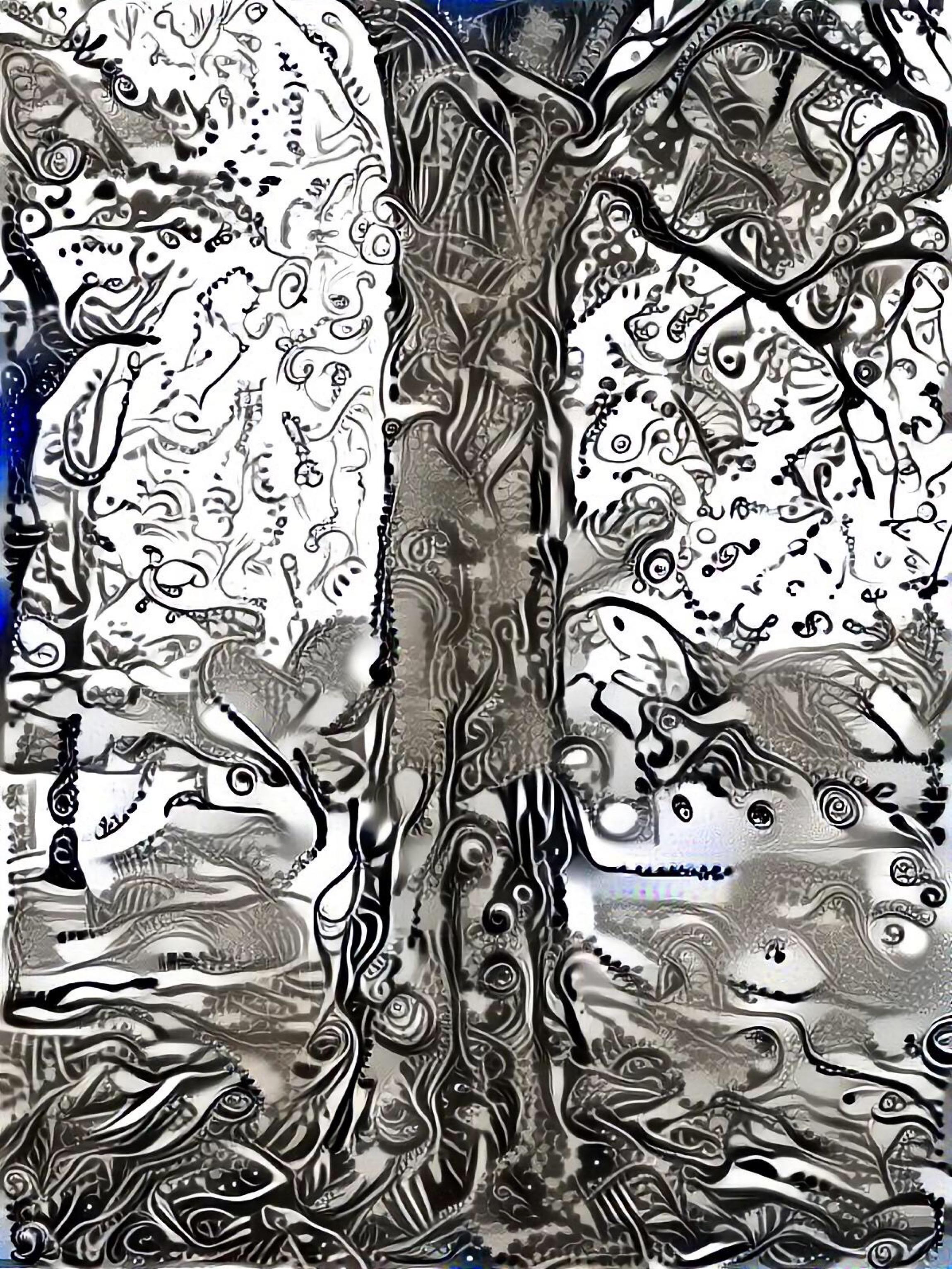 T. Wendell Peek ~ Under The Bodhi Tree