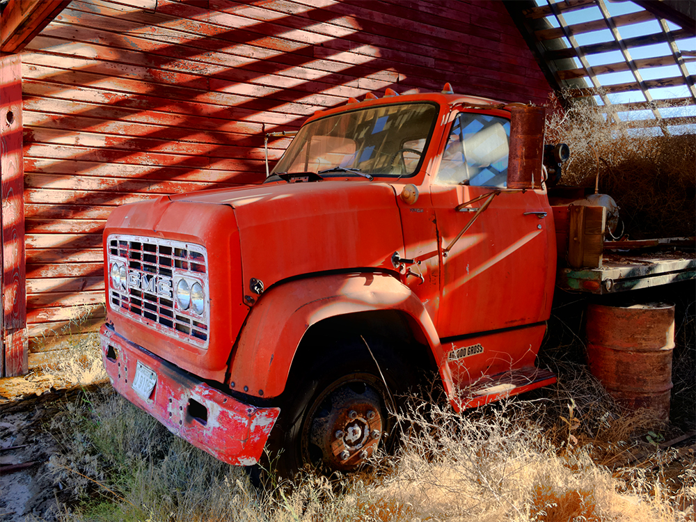 Connie Rosenthal ~ Red Truck