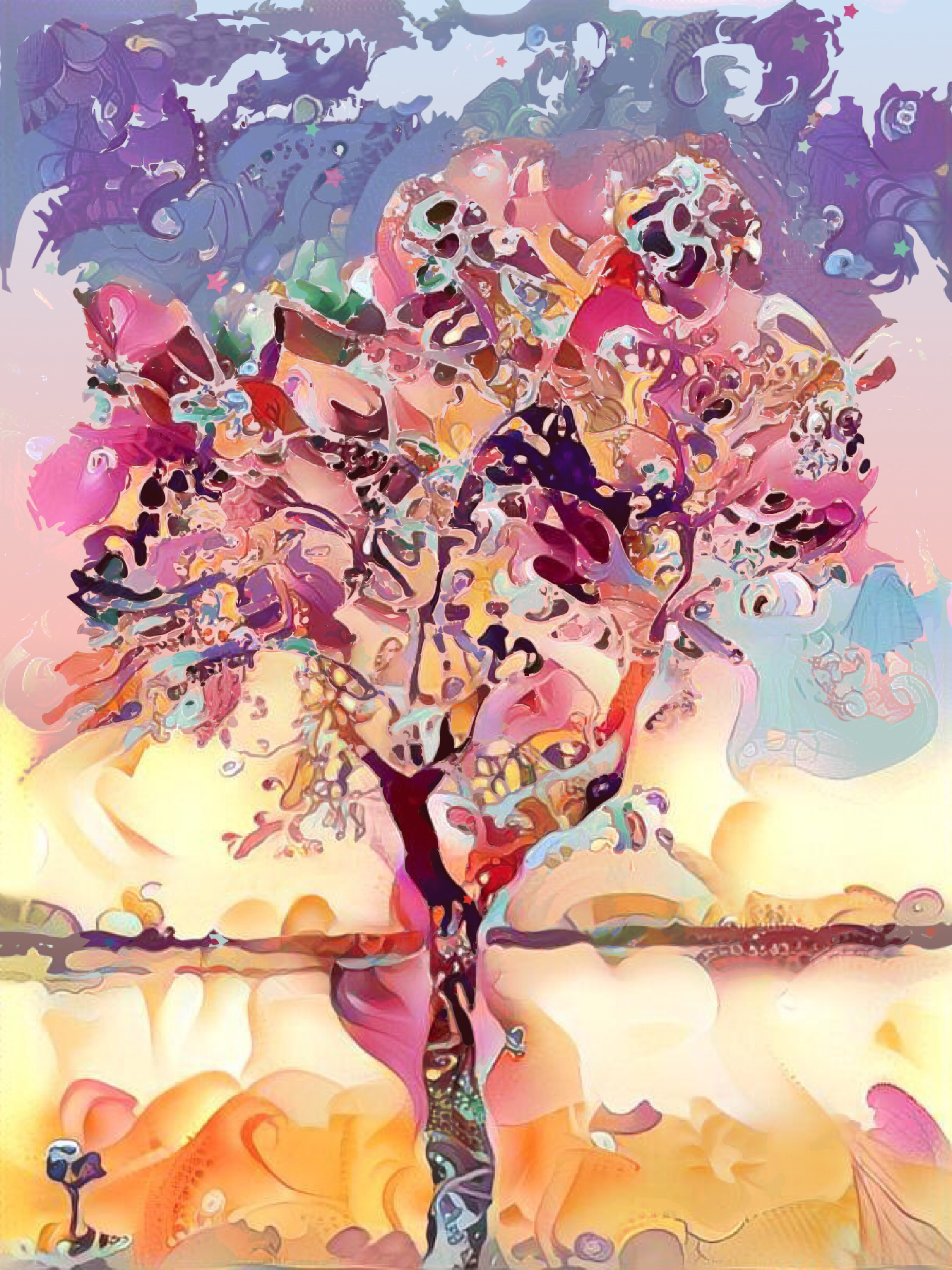 T. Wendell Peek ~ A Child Should Be A Tree