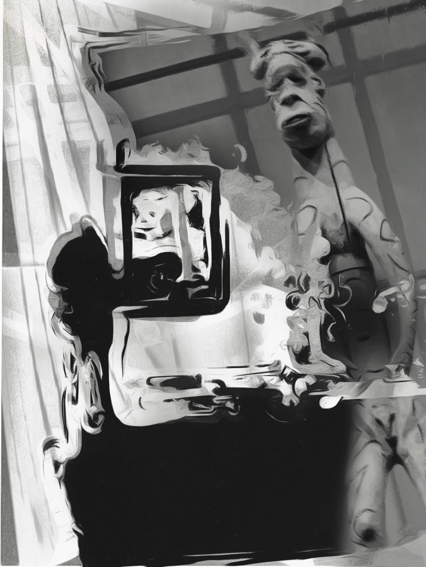 Meri Walker ~ Donnie Paints His Great New America