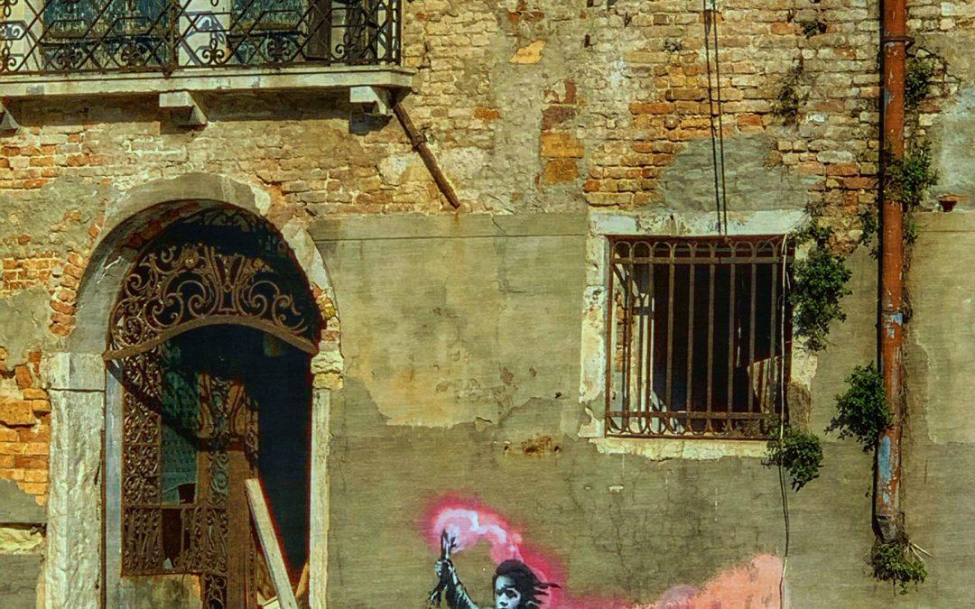 Maris Meyerson ~ Banksy à Venizia