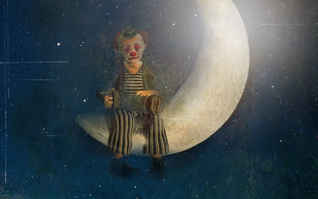 Angie Jansen ~ The Clown and the Moon
