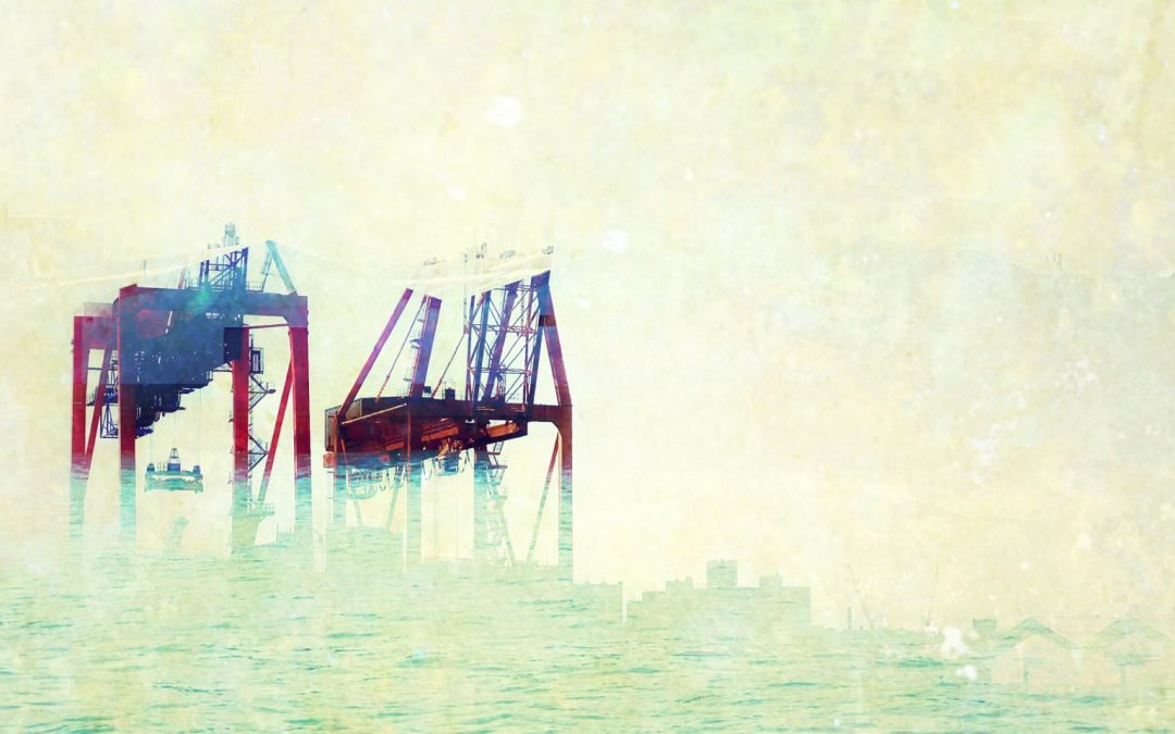Adam Mead ~ When my Father worked the docks …