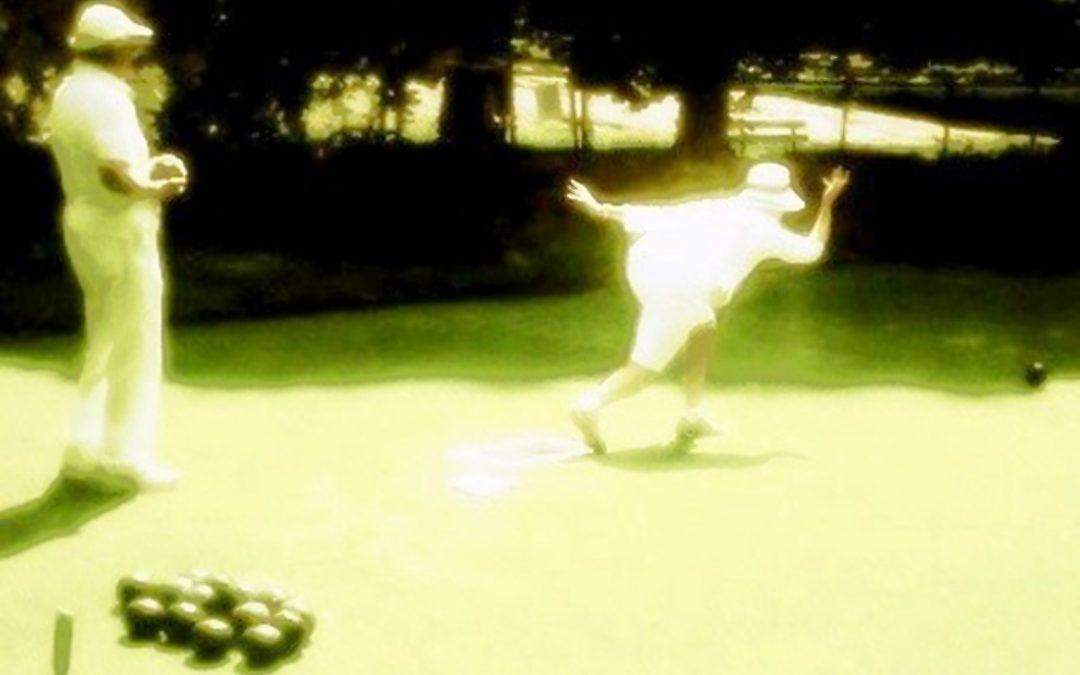 {en vedette} Marcele Augustine ~ Lawn Bowlers